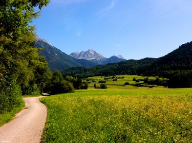 Weg nach Naßereith- Dormitz Tirol