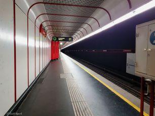 U-Bahn Station Donauinsel