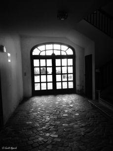 Innenhof von der Innsbrucker Hofburg aus