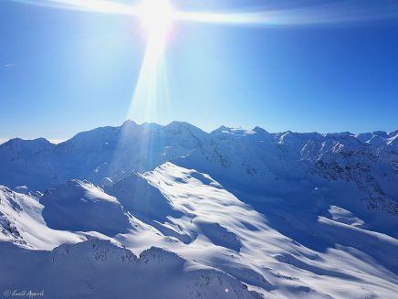 Blick vom Wurmkogel Richtung Südwesten (Hochgurgl - Ötztal) Tirol-Austria