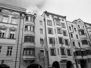 Altstadthäuser Innsbruck Feb. 2018